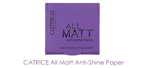 CATRICE - All Matt Anti-Shine Paper