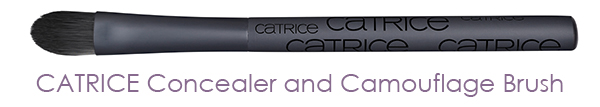 CATRICE - Concealer and Camouflage Brush
