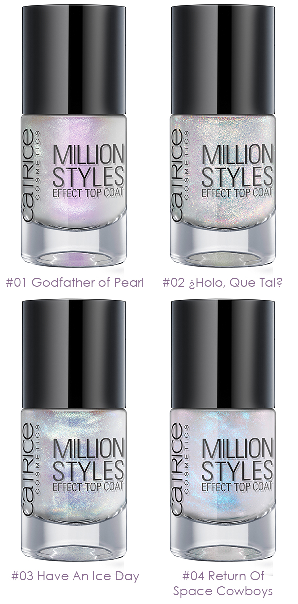 CATRICE - Million Styles Effect Top Coat