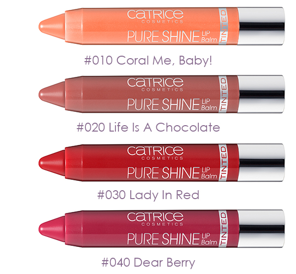 CATRICE - Pure Shine Tinted Colour Lip Balm