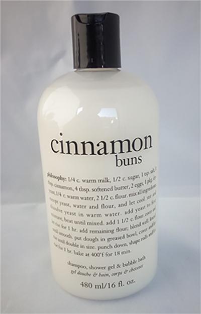 CINNAMON-BUNS SHAMPOO-SHOWERGEL-philosophy