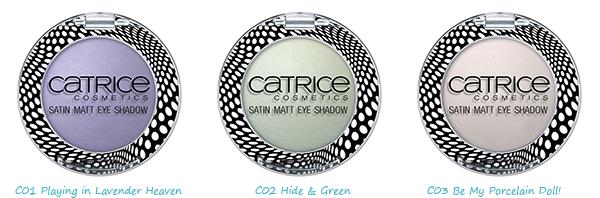 CATRICE – Satin Matt Eyeshadow - Dolls Collection