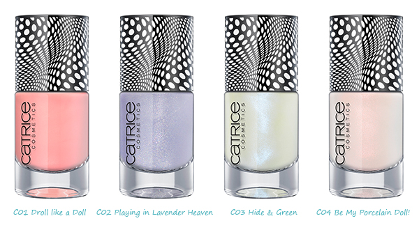 CATRICE – Nail Lacquer - Dolls Collection